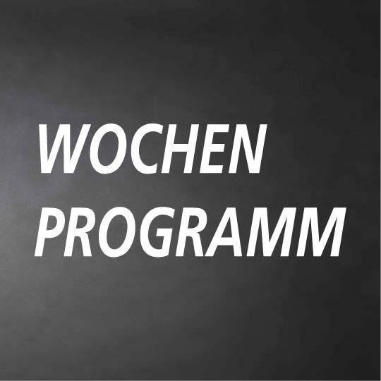 WOCHENPROGRAMM SOMMER 2017